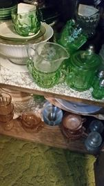 Depression Glass- All Colors and Patterns
