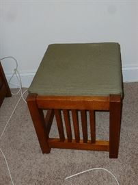 End of bed bench or footstool