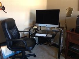 Desk & chair (computer NOT included)
