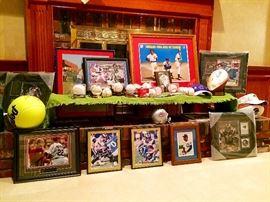 Collection of Signed Baseball Memorabilia