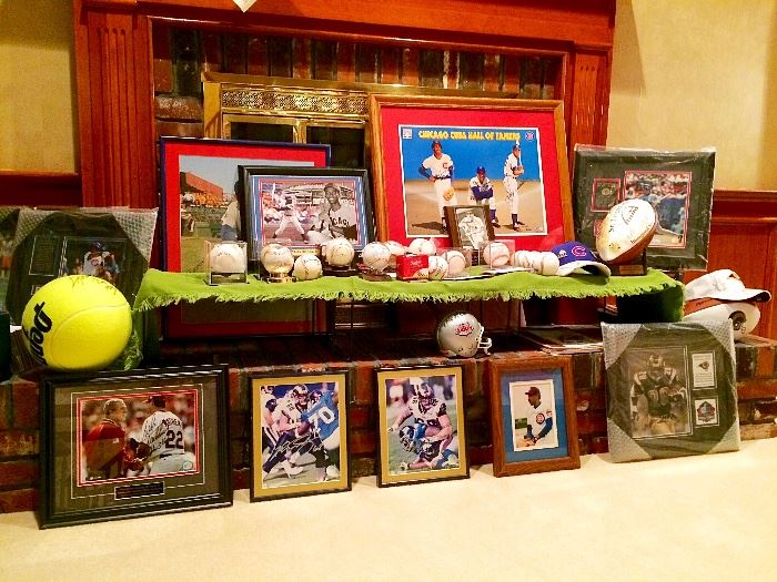 Collection of Signed Baseball Memorabilia