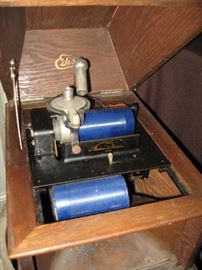 Edison Cylinder Phonegraph