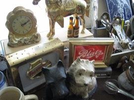 Blatz and Falstaff beer clocks