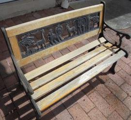 Children's Outdoor Bench