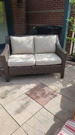 Out door patio love seat