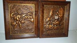 Vintage  copper art