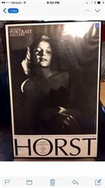 """Rare vintage Rita Hayworth poster from Horst exhibit,  """"60 Years of Style"""" National Portrait Gallery, 2001"""