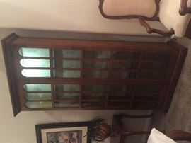 China Cabinet/Bookcase Beautiful, clean lines!
