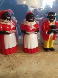 c1950's Aunt Jemima & Uncle Moses Advertising Collectibles