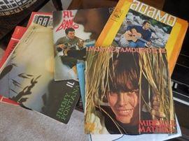 Vintage Italian 45 Records/Jackets