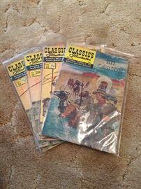 Kit Carson Classics Illustrated comics