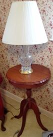 Lamp Table & Table Lamp