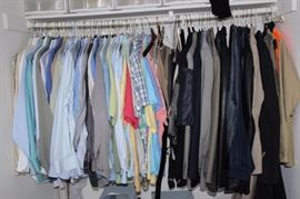 Mens clothing.
