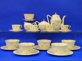 Belleek porcelain Tea set