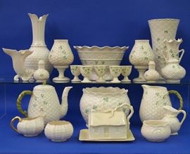 Belleek porcelain collection