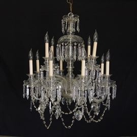 Czech Crystal Chandelier (12 arms)