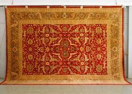 Indo Persian Rug (10.1 x 13.8)