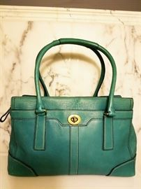 Limited Edition rare Coach Kelly leather Bag
