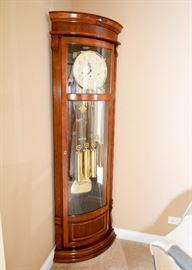 "BUY IT NOW!  Lot #300, Ridgeway Corner Grandfather Clock, Made in Germany, (Approx. 78"" H x 23"" W), $800"
