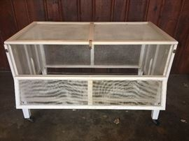 1950's outside frame baby bed/crib