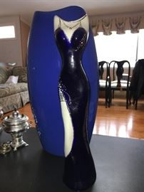 Evening Gown pottery