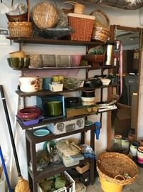 Assorted garage items
