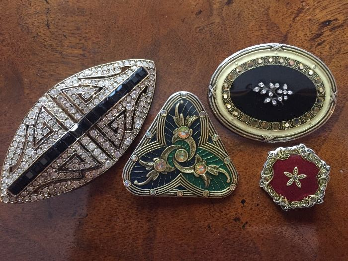 French Pins, Catherine Popesco three on right