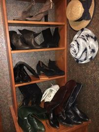 Boots and tons of great hats