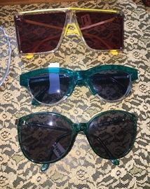 Designer sunglasses, Mikli, Gucci and Guy LaRoche