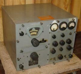 Navy Ship Radio Receiving Equipment