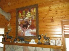 HUNTING ARTWORK AND DECOR