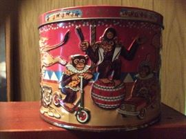 Just one of many antique tins