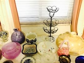 Swedish glassware, Polish pottery and more