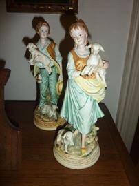 Ethan Allen figurines