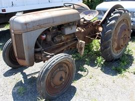 At 7PM: Antique Ford Ferguson Tractor