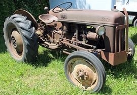 At 7PM: Antique Ford Tractor