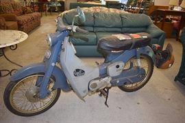 At 7PM: Honda Motorcycle