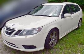 At 8PM: 2009 Saab 9-3 2.0T Wagon Estate Auto