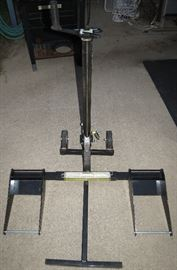 Riding mower and or ATV lift stand