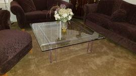 Glass top Coffee Table $99
