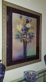 Floral Art Print  $65