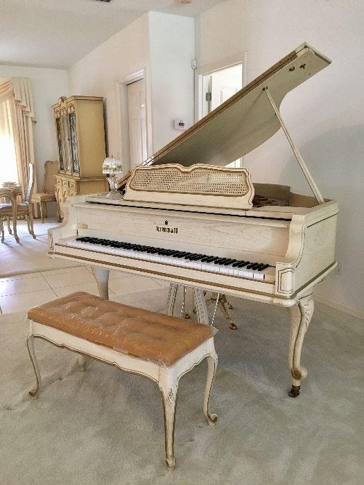 Kimball Baby Grand Piano Model 5883, Ser No B46700