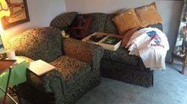 Like new sofa and chair
