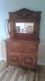 Oak sideboard excellent condition