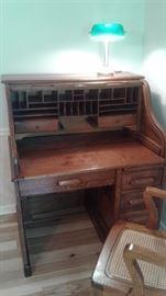 Beautifully restored roll top desk