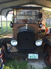 Presale Item:  1920 Model T Ford Depot Hack | please contact us for specifications and sale information.  Thank you.