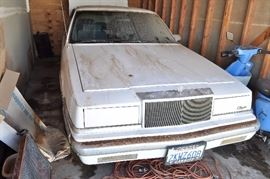 1988 Chrysler New Yorker Collector car condition 6. stored and not started in 10+ years. Sold non-op and as is. Clean title and currently registered. Asking $500.  or best offer