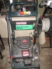 6hp Craftsman 2400 psi pressure washer.