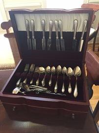 Nice set of sterling flatware