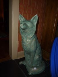 cast iron fox